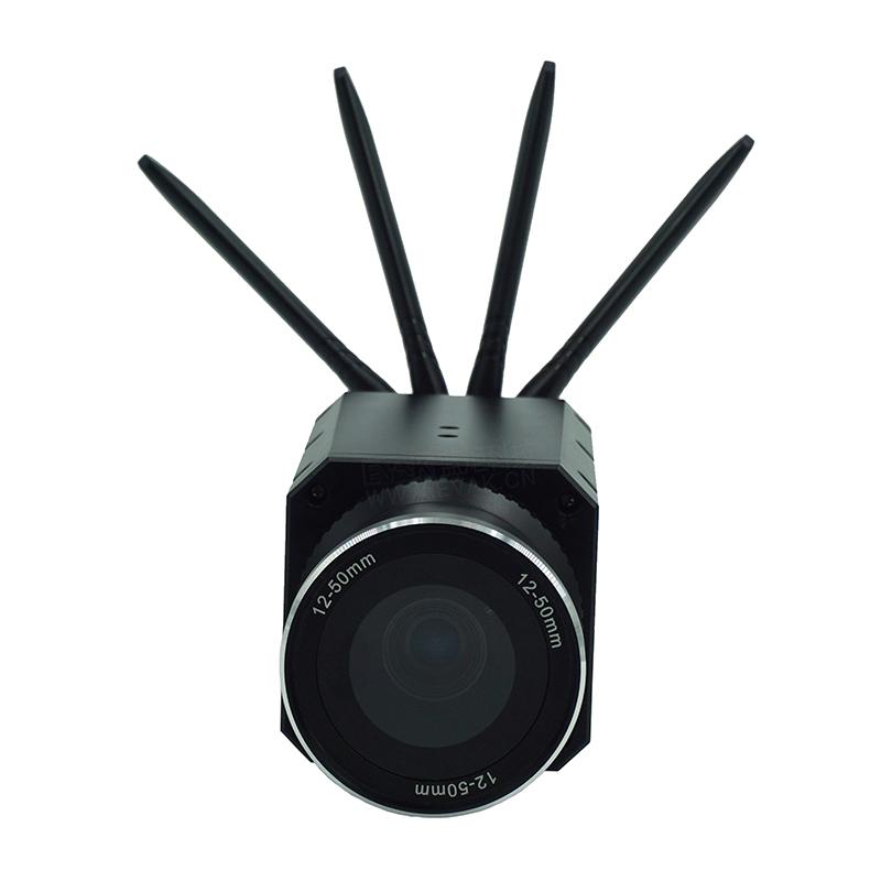 可换电池无线人脸识别一体化摄像机